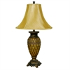 Ore International Classic Table Lamp - Honey
