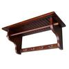 "Ore International 11"" Wall Hanger - Mahogany"