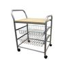3-Tier Metal Trolley