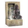 "Ore International 10""H Buddah Tabletop Fountain"
