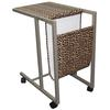 "Ore International 24.25""H Laptop Cart ( Leopard Print )"