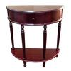 "Ore International Crescent End Table - Cherry (28"")"