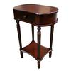 "Ore International Wide Side Table - Cherry (29"")"