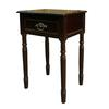 Ore International Square End Table - Cherry