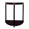"Ore International Crescent End Table - Cherry (26"")"