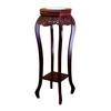 Ore International Cherry Flower Stand With Ceramic Top