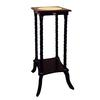 Ore International Square Flower Stand W/ Ceramic Top - Cherry