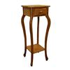 Ore International Oak Plant Stand