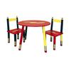 Ore International Kids Table 3-Pc. Set - Red Table