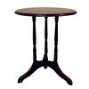 Ore International Round End Table - Cherry