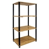 Ore International 4-Tier Bookshelf