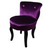 "Ore International 31""H Purple Glam Velvet Accent Chair"