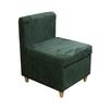 "28.5""H Accent Chair With Storage ( Dove Green )"