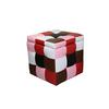 """16""""H Color Block Storage Ottoman + 1 Seating"""