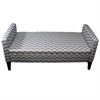 "Ore International 24""H Chevron Storage Bench"