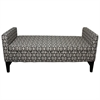 "Ore International 24""H Geometric Storage Bench"
