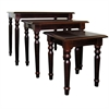 Ore International Cherry Nesting Tables