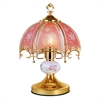 "14.25"" Touch-On Table Lamp - Floral"