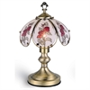 "14.25"" Touch-On Table Lamp - Rose"