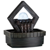 "9.5"" Meditation Fountain With Led Light"
