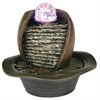 "Ore International 8"" Table Fountain With Led Light"