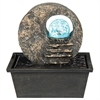 "Ore International 8.5"" Table Fountain With Led Light"