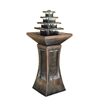 "Ore International 39"" Pyramid Tiered Indoor/Outdoor Fountain"