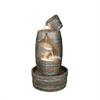 "Ore International 38.5"" Barrel Indoor/Outdoor Fountain"