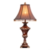 "Ore International 31""H Resemble Wood Table Lamp"