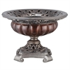 "Ore International 12""H Roman Bronze Collection -Decorative Bowl"