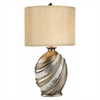 "Ore International 30.5""H Silver Decorative Table Lamp"
