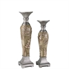 "19/16""H Fern Decorative Candleholder Set, Set of 2"