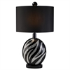 "Ore International 31""H Zebra Table Lamp"