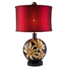 Ore International 30.5''H Golden Demeter Table Lamp