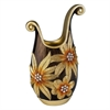 Ore International 18''H Golden Demeter Decorative Vase