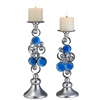 "14""/16""H Just Dazzle Candleholder Set, Set of 2"