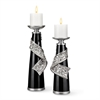 "12"" / 16"" Stellaire Candleholder Set of 2, Set of 2"