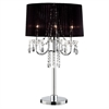 "Ore International 27.5""H Crystal Drop Table Lamp"