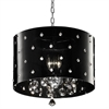 "Ore International 10""H Star Crystal Ceiling Lamp"