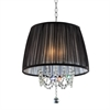 Ore International 17''W Eclipse Ceiling Lamp