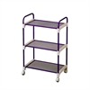 Lavender (Purple) 3 Tier Utility Cart