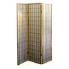 Ore International 3-Panel Room Divider - Natural