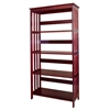 "60"" 4-Tier Bookcase - Cherry"