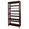 "Ore International 60"" 4-Tier Bookcase - Espresso"