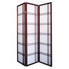 Ore International Girard 3-Panel Room Divider - Cherry