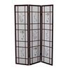 Ore International 3 Panel Shoji Screen - Cherry