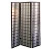 Ore International 3-Panel Room Divider - Cherry