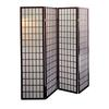 Ore International 4-Panel Room Divider - Cherry