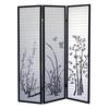 Ore International 3-Panel Room Divider - Scenery
