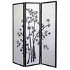 Ore International 3-Panel Room Divider - Bamboo